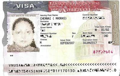 Visa De No Inmigrante Para Estados Unidos